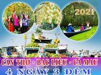 Tour 6 tỉnh Miền Tây Tết Nguyên Đán 2021 1