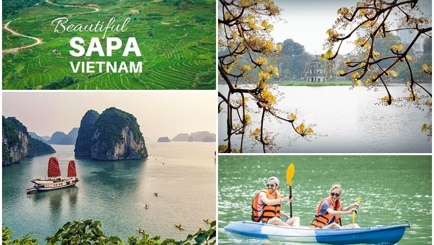 Tour du lịch Hà Nội - Hạ Long - Sapa 5 ngày 4 đêm