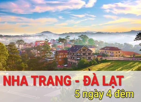 TOUR 30/4 : NHA TRANG - TP. NGÀN HOA ĐÀ LẠT