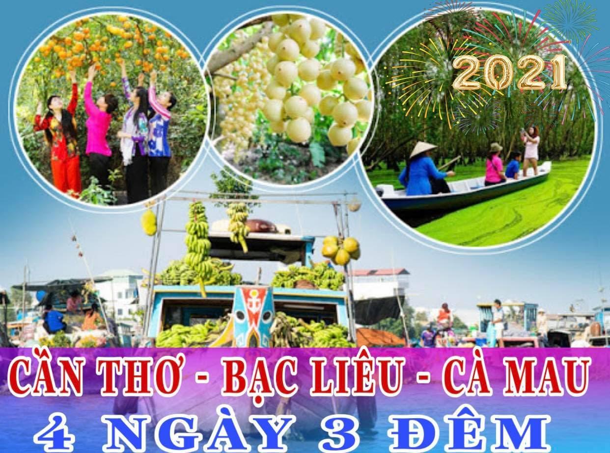 Tour 6 tỉnh Miền Tây Tết Nguyên Đán 2021