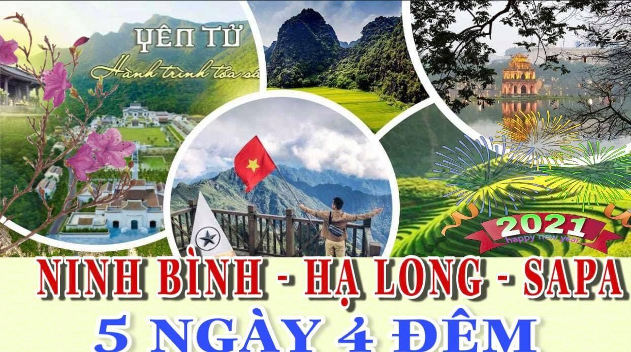 Du lịch Miền Bắc Hà Nội – Tràng An – Bái Đính – Hạ Long – Yên Tử - Sa Pa
